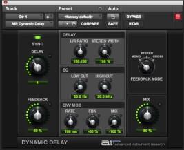 Digidesign AIR Dynamic Delay