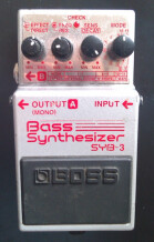 Boss SYB-3 Bass Synthesizer