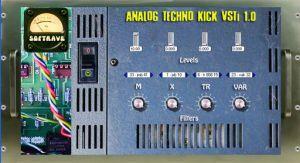 Softrave Analog Techno Kick