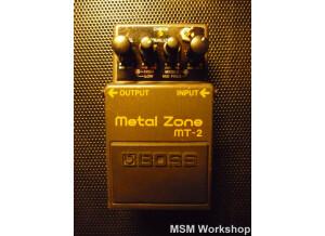 Boss MT-2 Metal Zone - Atom - Modded by MSM Workshop