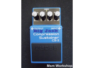 Boss CS-3 Compression Sustainer - Big Jack - Modded by MSM Workshop