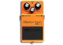 Boss DS-1 Distortion - Rectifier - Modded by Monte Allums