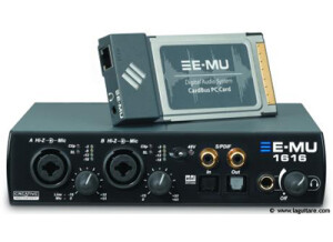 E-MU 1616 PCMCIA