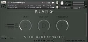 Cinematique Instruments Alto Glockenspiel