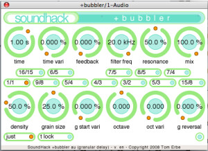 Soundhack Delay Trio