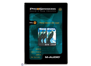 M-Audio ProSessions Vol. 03 — These Drums Are Loud
