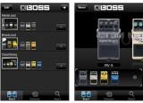 Un pédalier d'effets Boss gratuit sur iPhone
