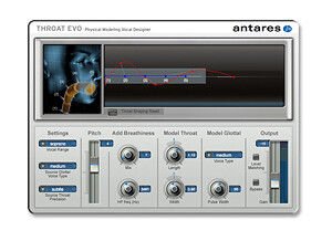 Antares Audio Technology Avox Throat