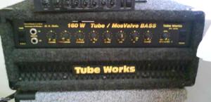 Tube Works 160W TUBE MOSVALVE BASS