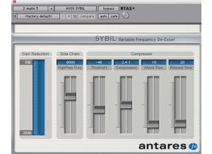 Antares Audio Technology AVOX Sybil