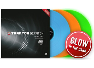 Native Instruments Traktor Scratch Control Vinyl Fluorescent Limited Edition
