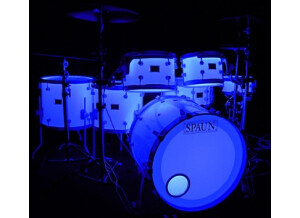 Spaun Drums LED Lighted Acrylic Drum Kit