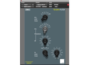 Abbey Road Plug-ins TG 12414 Mastering Filter