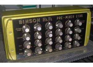 Binson Pre-Mixer Echo