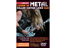 Learn 50 Killer Metal Guitar Licks Vol.2