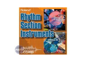 Roland L-CDX-01 Rhythm Section Instruments