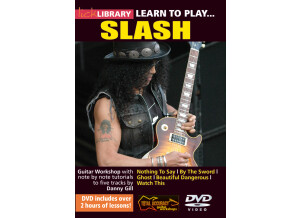 Lick Library Learn to Play Slash Guitar Tuition DVD