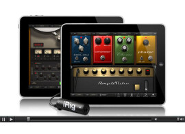 AmpliTube for iOS compatible with Audiobus