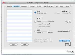 xACT X Audio Compression Toolkit