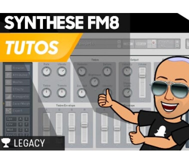 MJ Tutoriels Tuto FM8 - Le Sound Design en synthèse FM