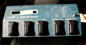 Showtec Lightfoot 4 way footcontroller-Dimmpack
