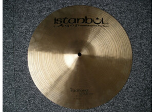 Istanbul Agop Traditional Medium Crash 16""