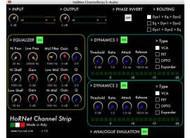 HorNet ChannelStrip v1.0.3