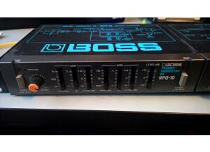Boss RPQ-10 Preamp / Parametric EQ