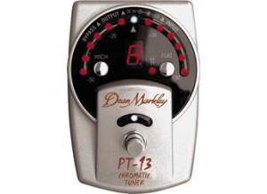Dean Markley PT-13 Chromatic Pedal Tuner