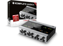 Komplete Audio 6 special offer in August