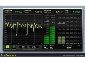ToneBoosters EBU Loudness