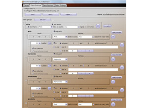 Audio Impressions Notation Switchblade