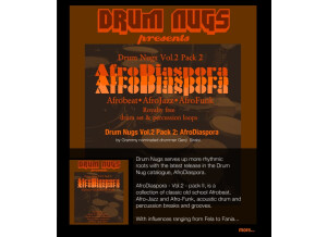 Drum Nugs AfroDiaspora
