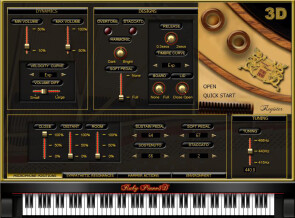 Sound Magic Ruby Piano3D