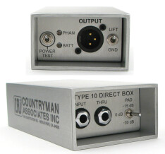 Countryman TYPE 10 Direct Box