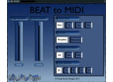 Forge Audio Designs BEAT to MIDI Available