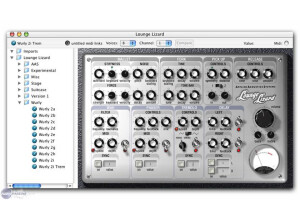 Applied Acoustics Systems Lounge Lizard EP-2