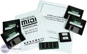 Kurzweil RM2-26 - Contemporary ROM For K2600 And K2600R