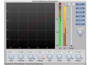 Sonoris Audio Engineering Sonoris Mastering Compressor (SMCP)