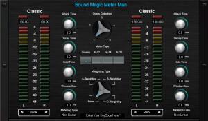 Sound Magic Meter Man