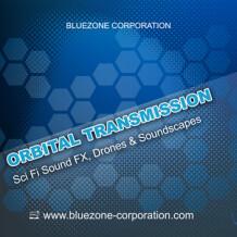 Bluezone Orbital Transmission: Sci-Fi Sound Effects & Soundscapes