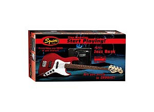 Squier Stop Dreaming, Start Playing Set: Affinity J Bass with Rumble 15 Amp