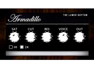 The Lower Rhythm Armadillo