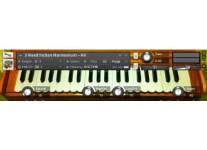 Sampleism 3 Reed Harmonium