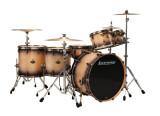 Ludwig Drums Epic Funk - Natural / Black Burst