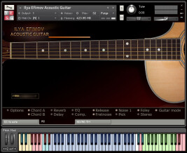 Ilya Efimov Sound Production Acoustic Guitar