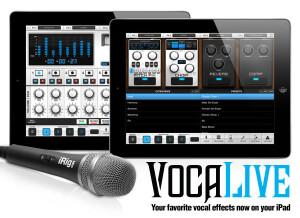 IK Multimedia VocaLive for iPad