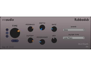 ++Audio Rubbadub