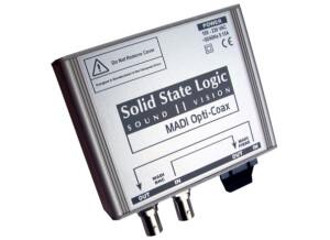 SSL MADI Opti/Coax