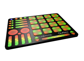 New Note mode for QuNeo with Ableton Live